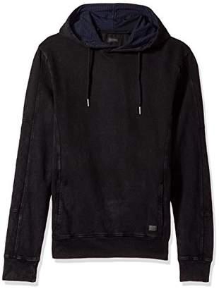 Buffalo David Bitton Men's Fiton Ls French Terry Washed Fashion Hoodie Sweatshirt