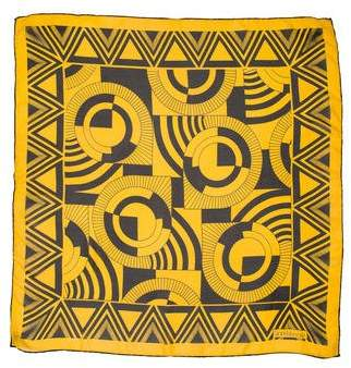 Gianni Versace Woven Print Scarf