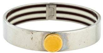 Henri Bendel Narrow Hinged Enamel Bangle