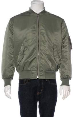 Yves Salomon Fur-Lined Bomber Jacket