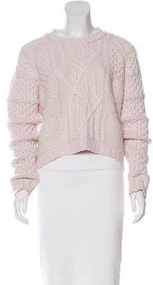 Inhabit Cashmere Knit Sweater $130 thestylecure.com