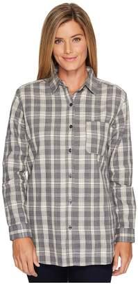 The North Face Long Sleeve Boyfriend Shirt Women's Long Sleeve Button Up