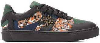 Mr & Mrs Italy camouflage tape skate sneakers