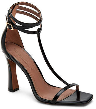 BCBGMAXAZRIA Ina T-Strap Dress Sandals Women Shoes