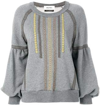 Muveil embroidered sweater
