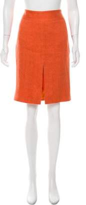 Dolce & Gabbana Woven Knee-Length Skirt