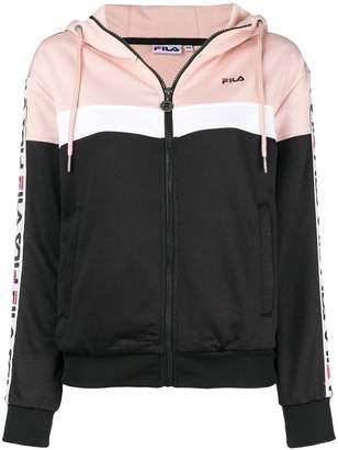 Fila (フィラ) - Fila logo stripe sweatshirt