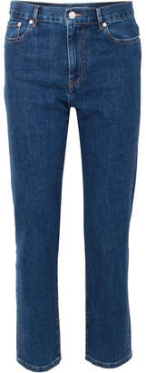 Joseph Taren High-rise Straight-leg Jeans - Indigo