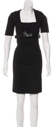 Gucci Wool Knee-Length Dress w/ Tags