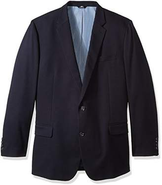 Haggar Men's Big & Tall in Motion Travel Stretch Classic Fit Blazer,54R