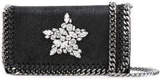 Stella McCartney crystal-embellished Falabella crossbody bag