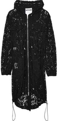 Moschino Guipure Lace Hooded Jacket