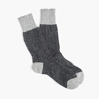 J.Crew Anonymous IsmTM grey crew socks