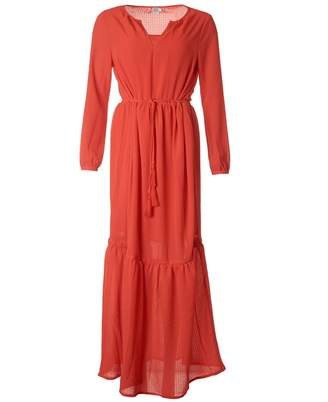 Saint Tropez Woven Long Dress