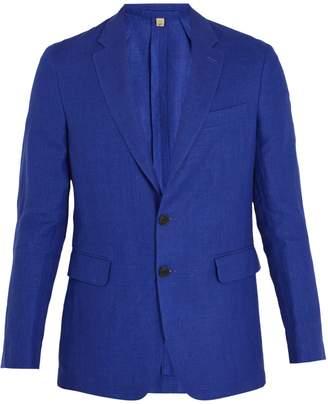 Burberry Soho single-breasted linen blazer
