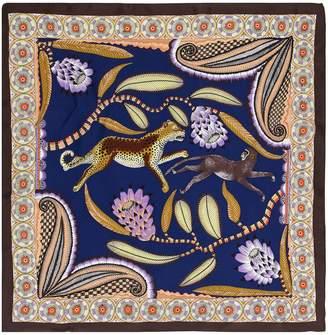 Sam Edelman Cheetah Chase Print Square Scarf