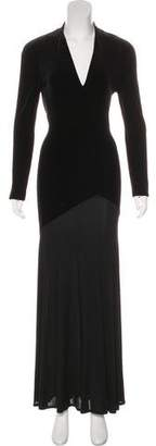 Nicole Farhi Velvet Evening Dress