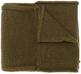 Maison Margiela chunky knit scarf