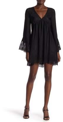 Honeybelle Honey Belle V-Neck Long Sleeve Lace Dress