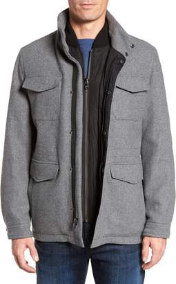 Michael Kors Regular Fit Double Layer Field Jacket