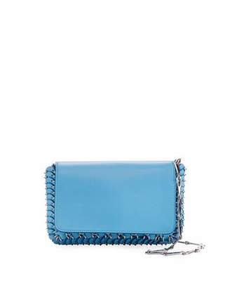 Paco Rabanne Iconic Mini Shoulder Bag with Dragonne