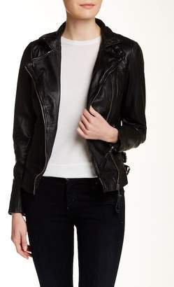 Muu Baa Muubaa Reval Leather Biker Jacket