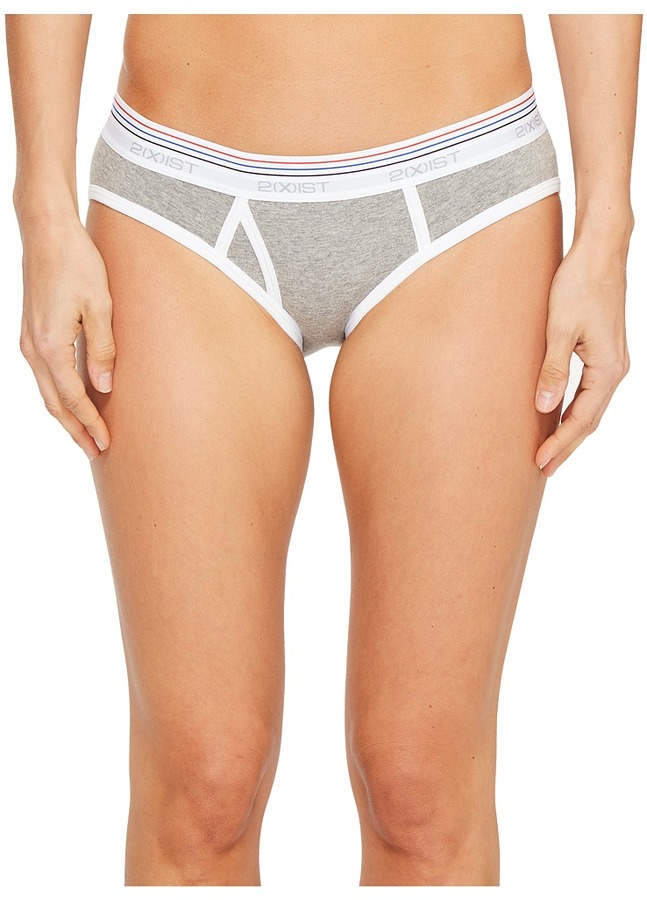 2(X)IST 2IST - Retro Cotton Boy Brief Women's Underwear