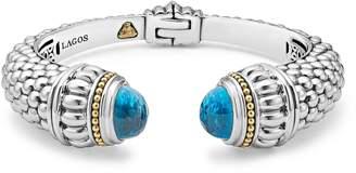 Lagos Caviar Color Hinge Wrist Cuff