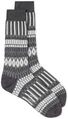Ayame Socks Basket Lunch Solid Sock