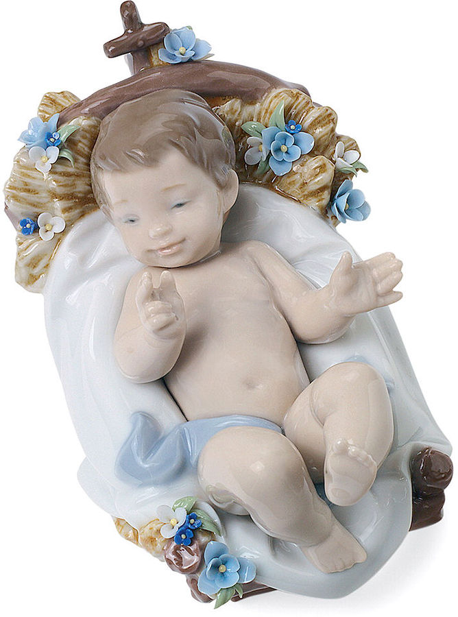 Lladro Collectible Figurine, Baby Jesus