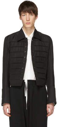 Ann Demeulemeester Black Francis Jacket