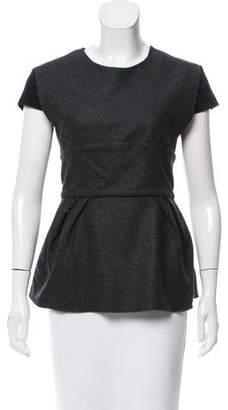 Ter Et Bantine Short Sleeve Wool Top