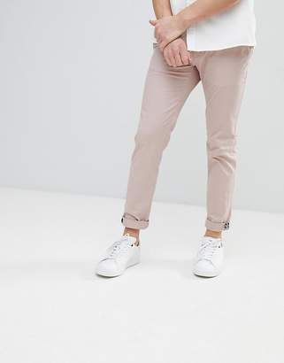 Ted Baker Slim Fit Chino In Beige