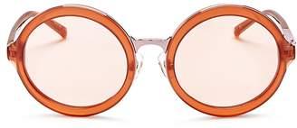 3.1 Phillip Lim Women's Round Sunglasses, 53mm