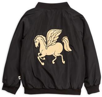 Mini Rodini Pegasus Baseball Jacket