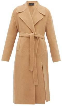 Rochas Pachino Wool Coat - Womens - Beige