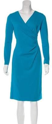 Emporio Armani Long Sleeve Knee-Length Dress w/ Tags