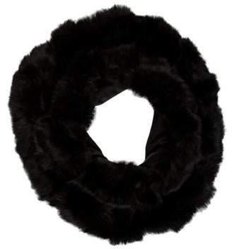Fur Snood Black Fur Snood