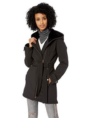 Jessica Simpson Women's Softshell Sherpa Lined Fashion Jacket