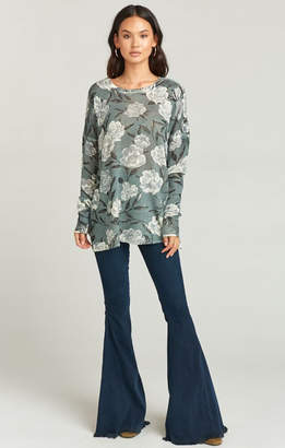 Show Me Your Mumu Bonfire Sweater ~ Frosted Florals Knit