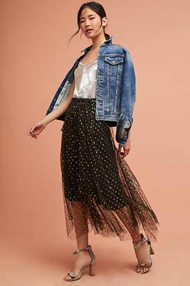 Eva Franco Zelda Metallic Skirt