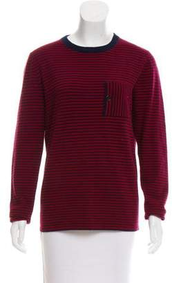 Band Of Outsiders Wool Striped Sweater