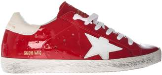 Golden Goose Varnished Sneakers