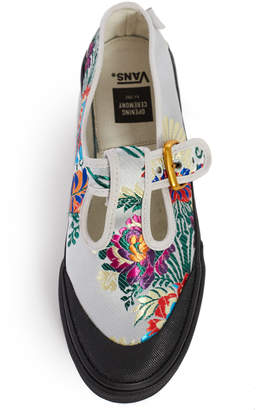 Opening Ceremony Vans For OC Satin Floral Style 93 Sneaker
