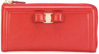 Salvatore Ferragamo Vara zip-up continental wallet