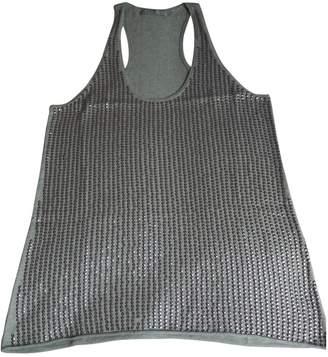 Berenice Grey Glitter Top for Women