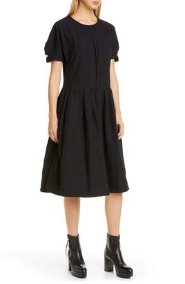 Comme des Garcons Pleated Midi Dress