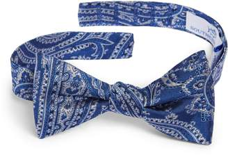 BeauFort Southern Tide Paisley Bow Tie