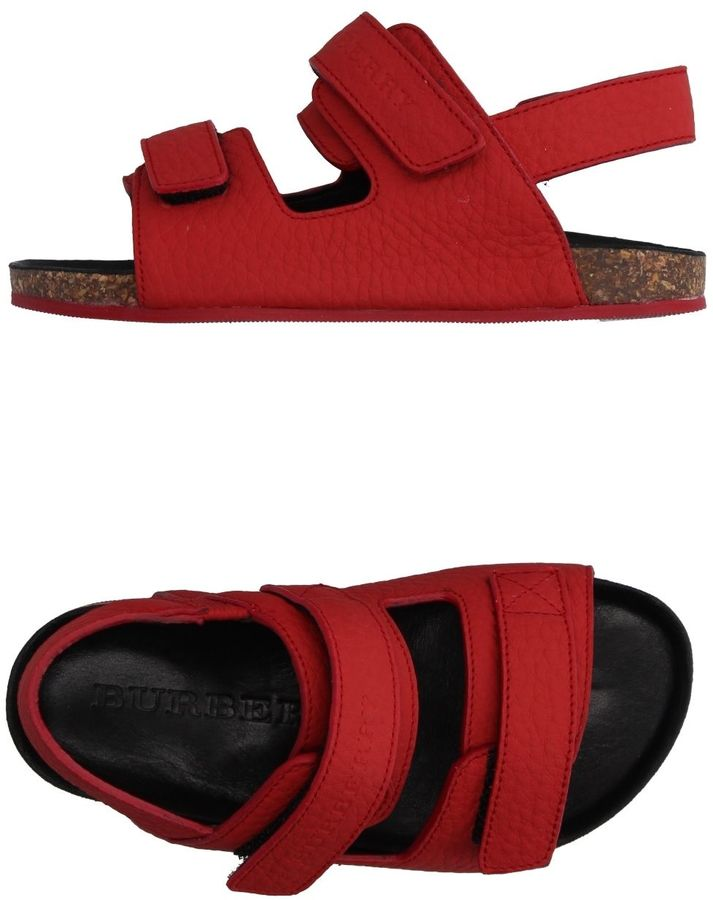 Burberry Sandals Sandals Womens Womens Womens Burberry Sandals Red Burberry Red Iyfm6Ygvb7