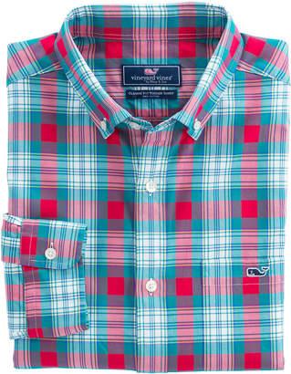 Vineyard Vines Elmwood Plaid Classic Tucker Shirt